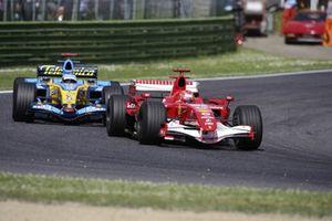 Michael Schumacher, Ferrari, Fernando Alonso, Renault