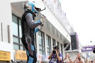 Race winner Frédéric Vervisch, Audi Sport Team Comtoyou Audi RS 3 LMS