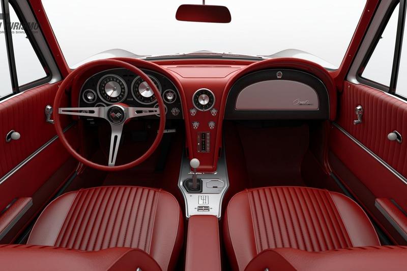 Chevrolet Corvette Sting Ray Sport Coupe (C2) '63