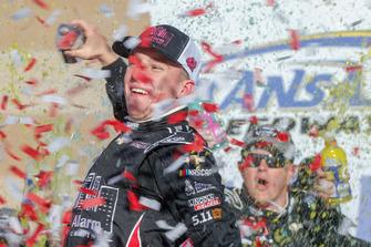 Race winner John Hunter Nemechek, Chip Ganassi Racing, Chevrolet Camaro Chevrolet