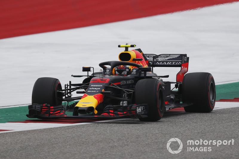 18º Max Verstappen, Red Bull Racing RB14 (sancionado con 5 posiciones por sustituir caja de cambios)