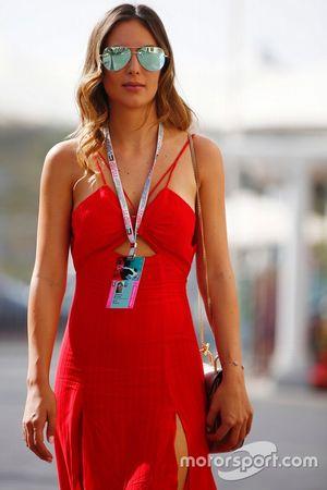 Brittny Ward, novia de Jenson Button