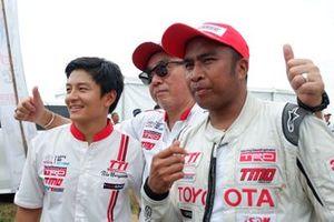 Rio Haryanto, Advisor dan Haridarma Manoppo, Toyota Team Indonesia