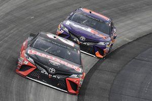 Erik Jones, Joe Gibbs Racing, Toyota Camry Craftsman, Denny Hamlin, Joe Gibbs Racing, Toyota Camry FedEx Express