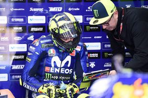 Valentino Rossi, Yamaha Factory Racing, mit Alessio