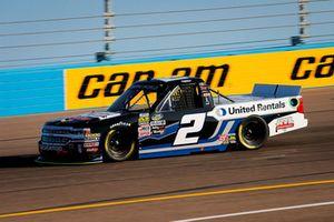 Sheldon Creed, GMS Racing, Chevrolet Silverado United Rentals/AM Ortega