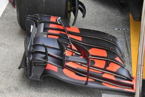 Daniel Ricciardo, Red Bull Racing RB14 front wing detail