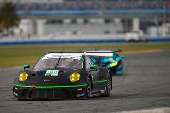 #540 Black Swan Racing Porsche 911 GT3 R, GTD: Timothy Pappas, Matteo Cairoli, Dirk Werner