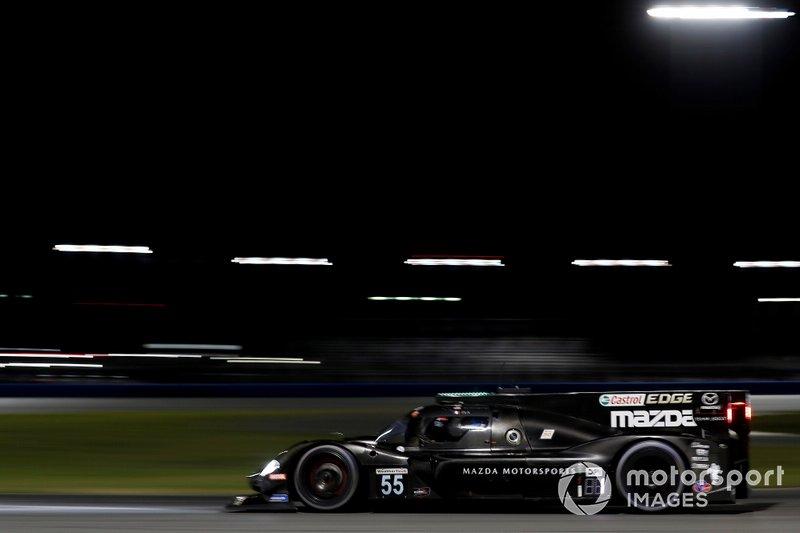 #55 Jonathan Bomarito, Harry Tincknell, Olivier Pla; Mazda Team Joest, Mazda DPi (DPi)