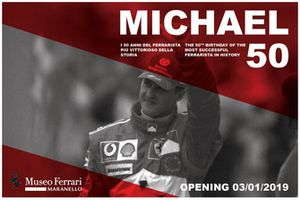 Cartel exposición Michael 50