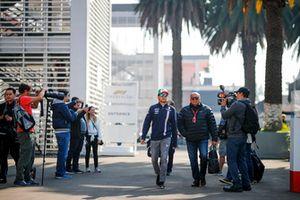 Sergio Perez, Racing Point Force India avec son père Antonio Perez Garibay