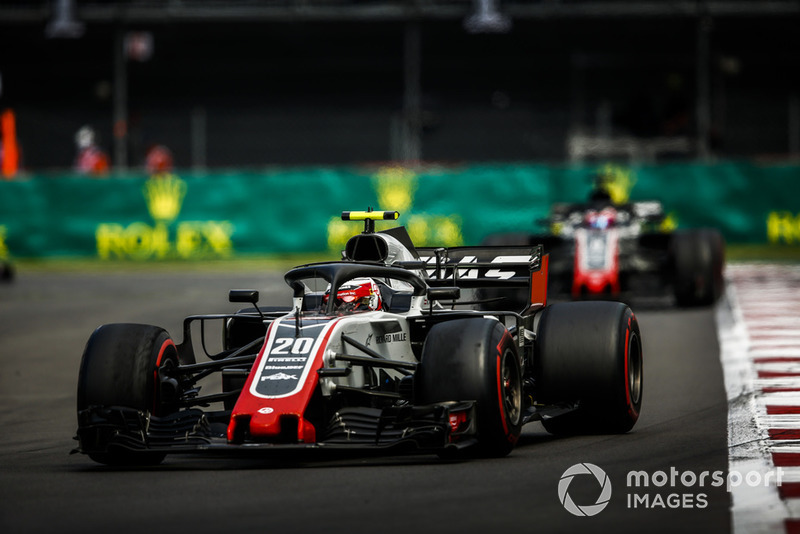 15e : Kevin Magnussen (Haas)