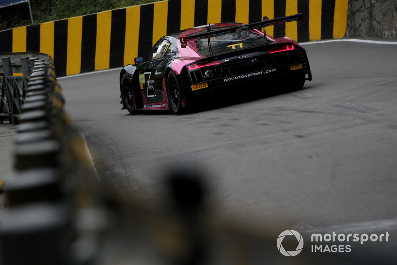 #77 Zun Motorsport Crew Audi R8 LMS: Adderly Fong