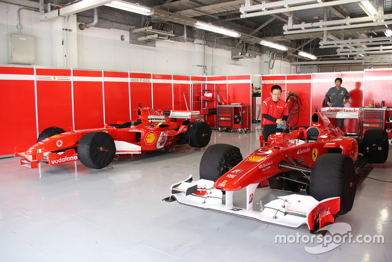Ferrari F10 & F2005