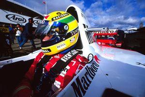 Айртон Сенна, McLaren Ford MP4/8