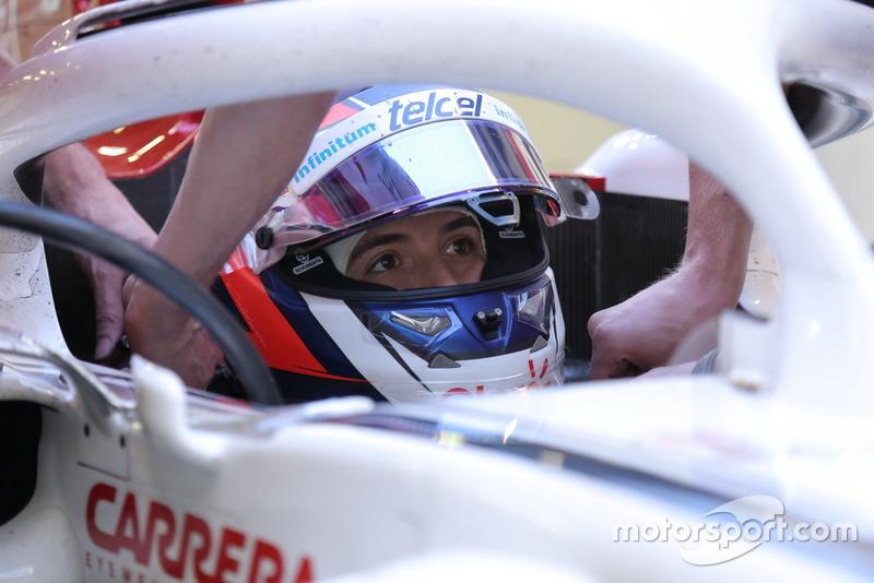Pruebas de Tatiana Calderón después del Gran Premio de México.