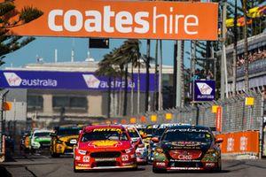Start zum Supercars-Finale 2018 in Newcastle: David Reynolds, Erebus Motorsport Holden, führt