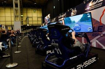 Le stand des Le Mans Esports Series