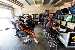 Erebus Motorsport Holden garage atmosphere