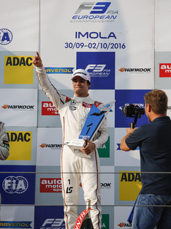 Podium: Sieger Lance Stroll, Prema Powerteam, Dallara F312, Mercedes-Benz