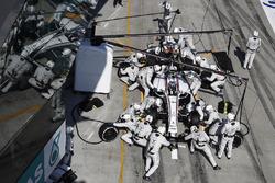 Valtteri Bottas, Williams FW38 aux stands