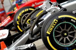 Un pneu Pirelli