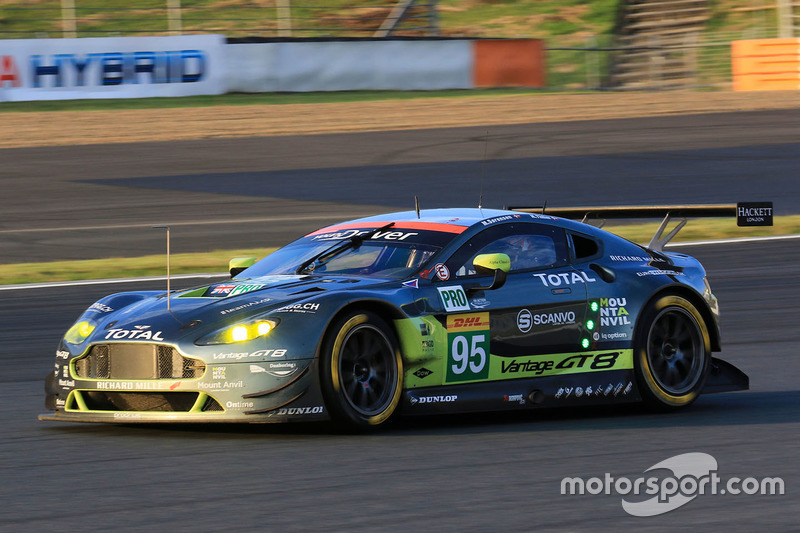 5. LMGTE Pro: #95 Aston Martin Vantage GTE: Marco Sorensen, Nicki Thiim