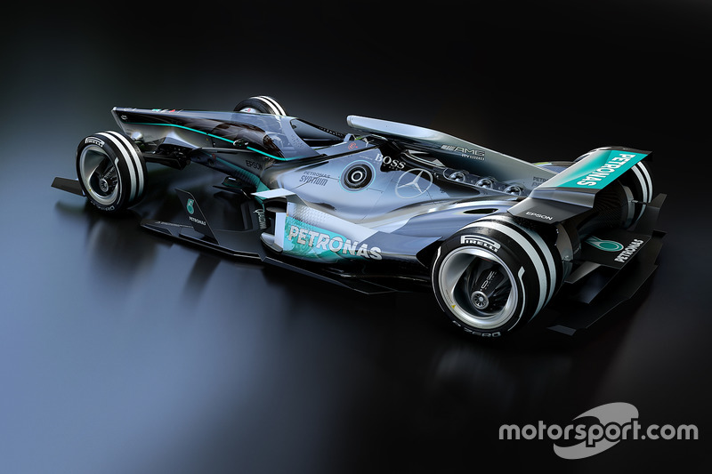 Mercedes 2030 diseño fantasy
