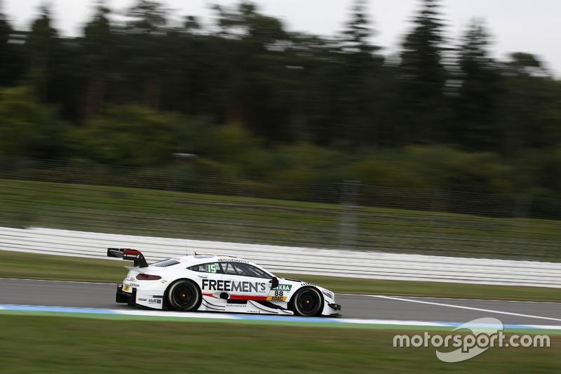 Ausfall: Felix Rosenqvist, Mercedes-AMG Team ART, Mercedes-AMG C63 DTM