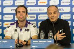 Jean-Eric Vergne, DS Virgin Racing y Xavier Mestelan Pinon, DS Director de rendimiento