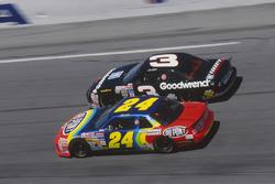 Jeff Gordon e Dale Earnhardt