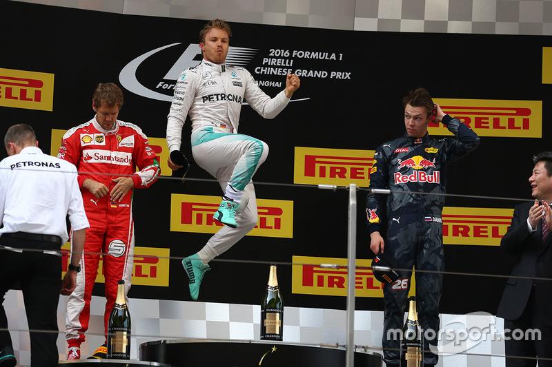 44 (2016) GP de China Primer lugar
