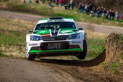 Николай Грязин и Ярослав Фёдоров, Skoda Fabia R5, Rally Masters Show 2016