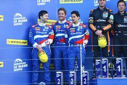 #32 SMP Racing BR 01 Nissan: Stefano Coletti, Julian Leal, Andreas Wirth segundo lugar