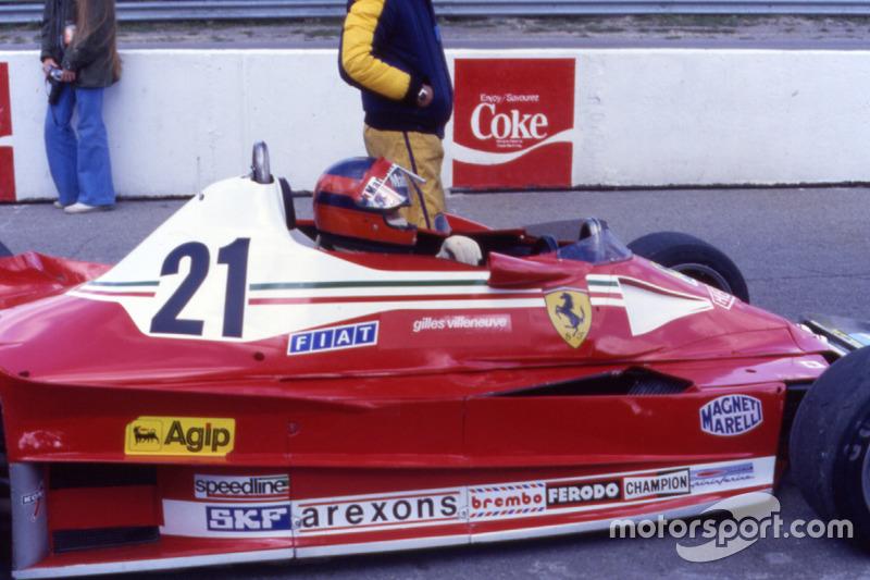 Primera carrera y primera victoria con Ferrari