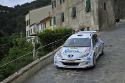 Paolo Oriella e Sandra Tommasini, Peugeot 207 Super 2000