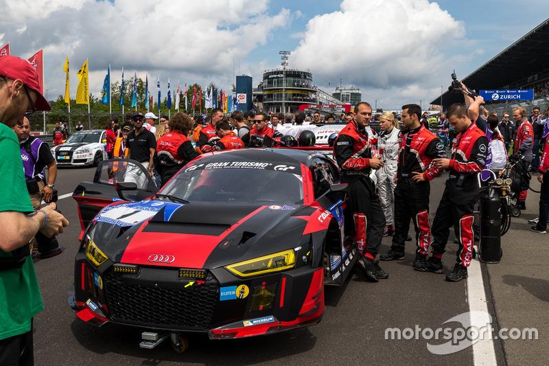#1 Audi Sport Team WRT, Audi R8 LMS