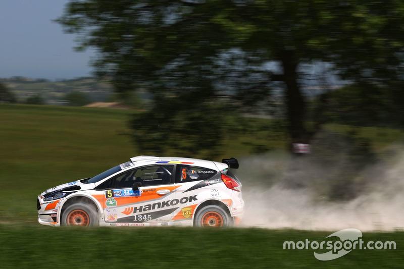 Simone Tempestini e Giovanni Bernacchini, Ford Fiesta R5