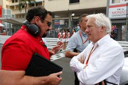 Alfonso de Orléans-Borbón, Racing Engineering, parla Charlie Whiting, Race Director, FIA