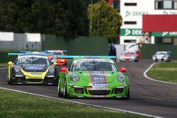 Mattia Drudi, Dinamic Motorsport - Modena precede Gianluca Giraudi, Ebimotors