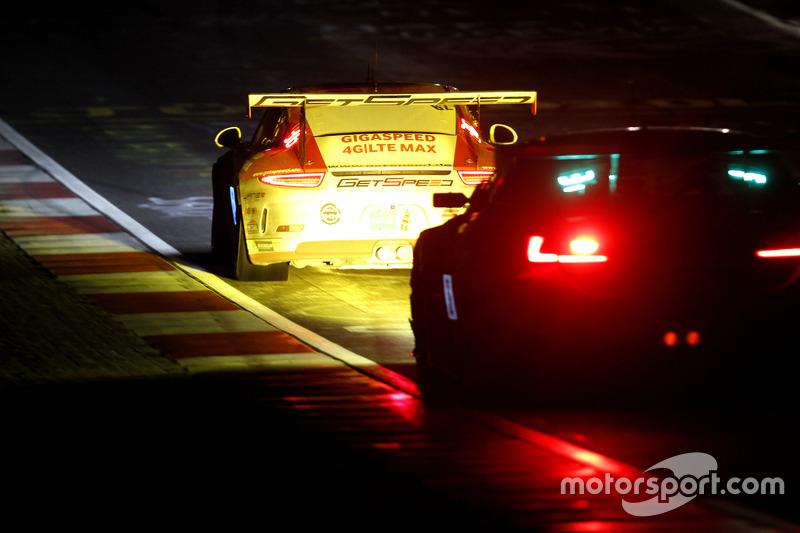 """#62 GetSpeed Performance, Porsche GT3 Cup: Adam Osieka, Kiki Sak Nana, """"Andy Sammers"""""""