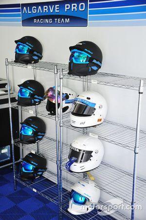 Algarve Pro Racing Team helmet