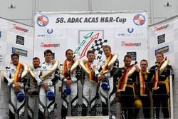 Podium: 2. #39 Schubert Motorsport, BMW M6 GT3: Martin Tomczyk, Lucas Luhr, John Edwards; 1. #31 Sch