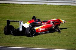 Gulhuseyn Abdullayev, Campos Racing crash