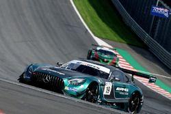 #19 Lechner Racing Mercedes AMG GT3: Mario Plachutta, Thomas Jäger