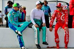 Ricky Stenhouse Jr., Roush Fenway Racing Ford, Jamie McMurray, Chip Ganassi Racing Chevrolet, Kyle L
