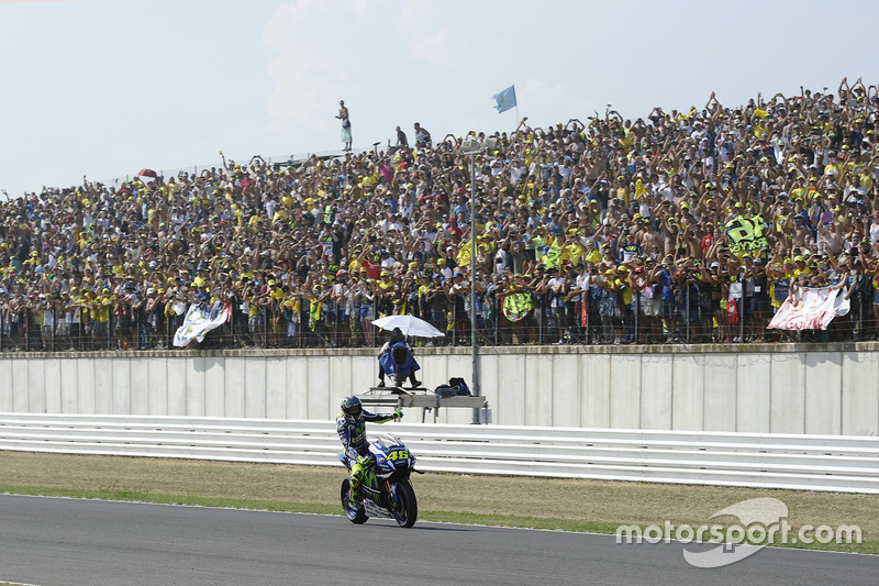 Platz 2: Valentino Rossi, Yamaha Factory Racing