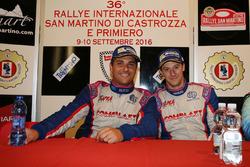 Conferenza stampa: Marco Signor e Patrick Bernardi, Sama Racing