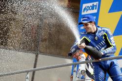 Podium: third place Alex Barros, Gauloises Yamaha Team