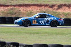 #8 Rebel Rock Racing Porsche Cayman: Robin Liddell, Theo Bean